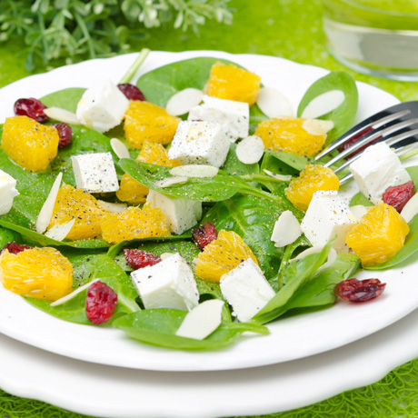 Peloponnesian Salad with Oranges